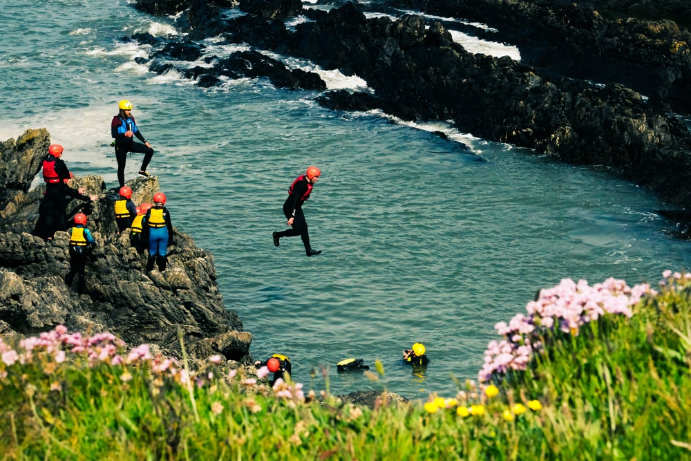 Activité Irlande Coasteering Loisirs Sport